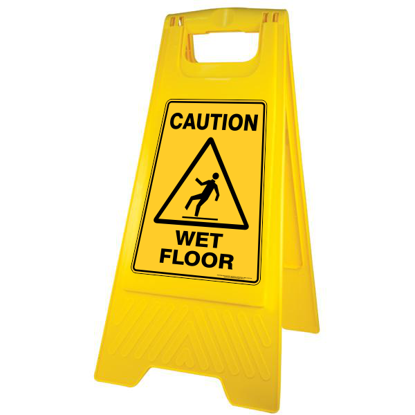 safety a frame floor signs australian safety signs. Black Bedroom Furniture Sets. Home Design Ideas