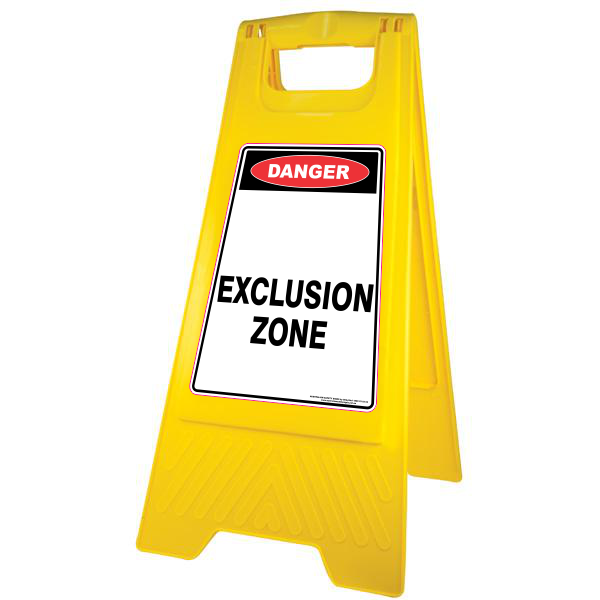 NEW EXCLUSION ZONE - A-FRAME