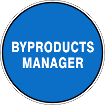 BYPRODUCTS MANAGER