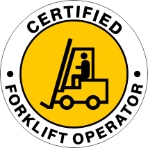 CERTIFIED FORKLIFT OPERATOR