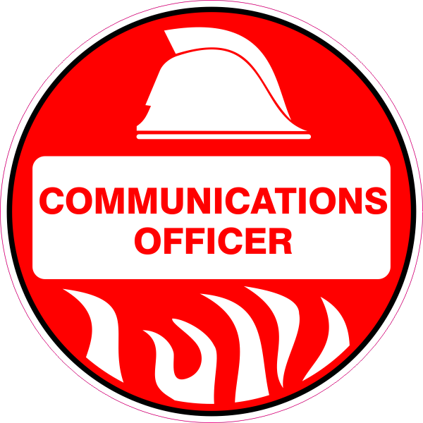 Communications Officer Australian Safety Signs