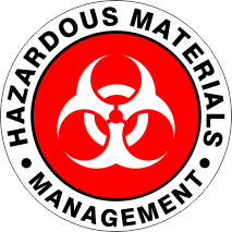 HAZARDOUS MATERIALS MANAGEMENT RED