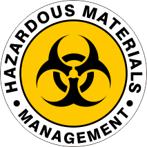 HAZARDOUS MATERIALS MANAGEMENT YELLOW