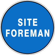 Image result for Site Foreman