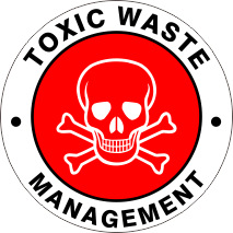 TOXIC WASTE MANAGEMENT RED