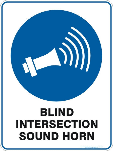 BLIND INTERSECTION SOUND HORN