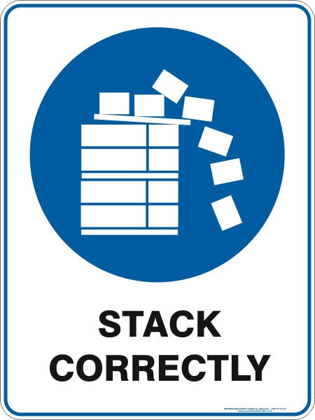STACK CORRECTLY