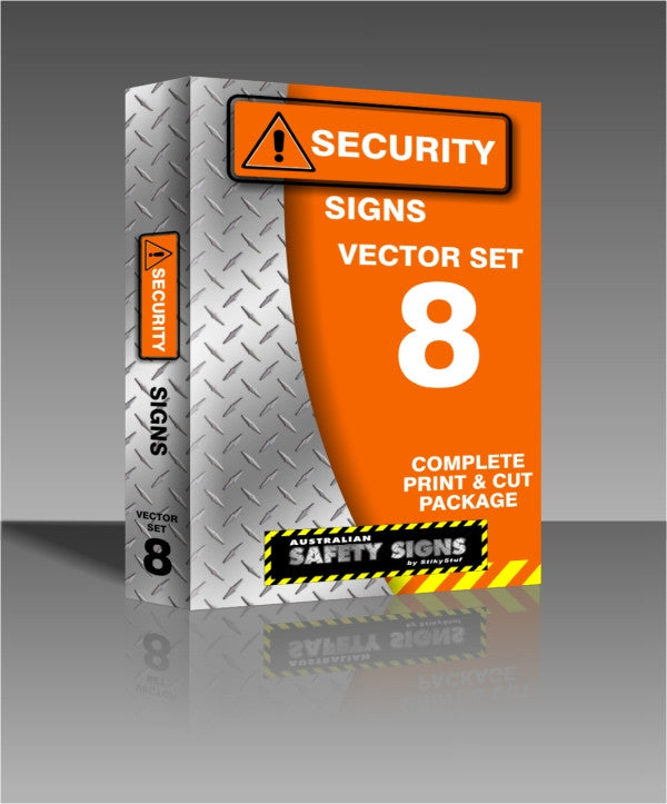 Series 8 - Security Signs Collection