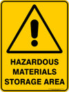 HAZARDOUS MATERIALS STORAGE AREA