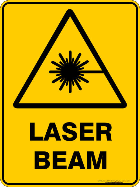 laser beam  u2013 australian safety signs