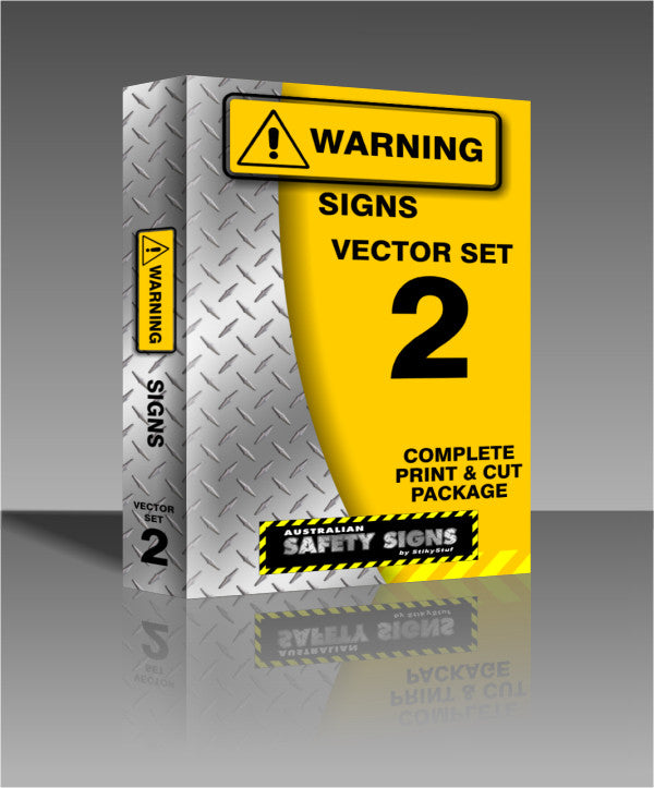 Series 2 - Warning Safety Signs Collection