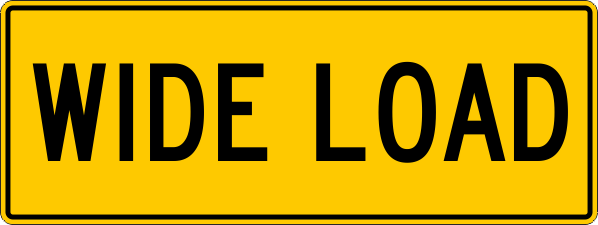 Wide Load Australian Safety Signs