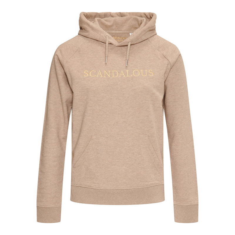 Scandalous Heather Sand Hoodie Women