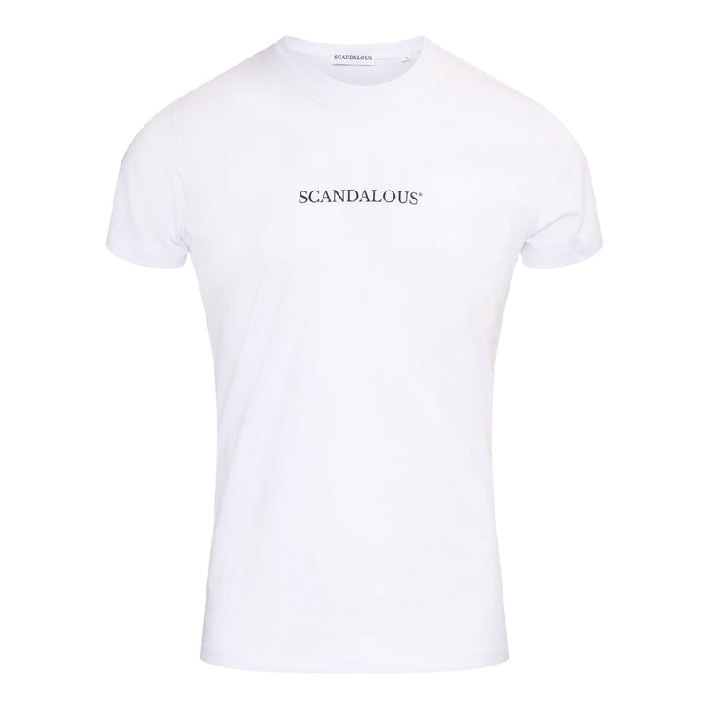Scandalous White 'Limitless' T-Shirt Men