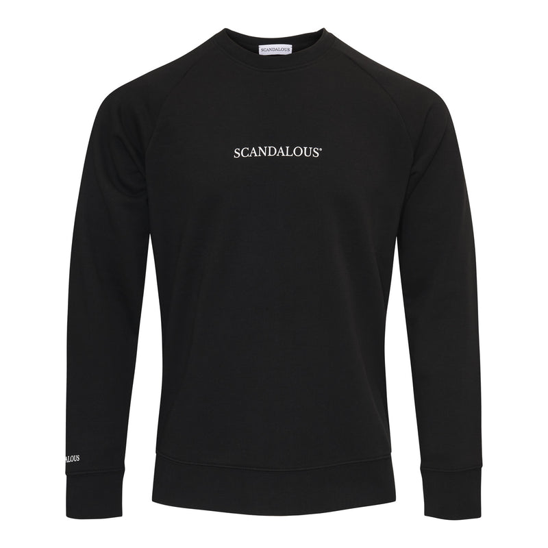 Scandalous Black 'Genesis' Sweatshirt Men