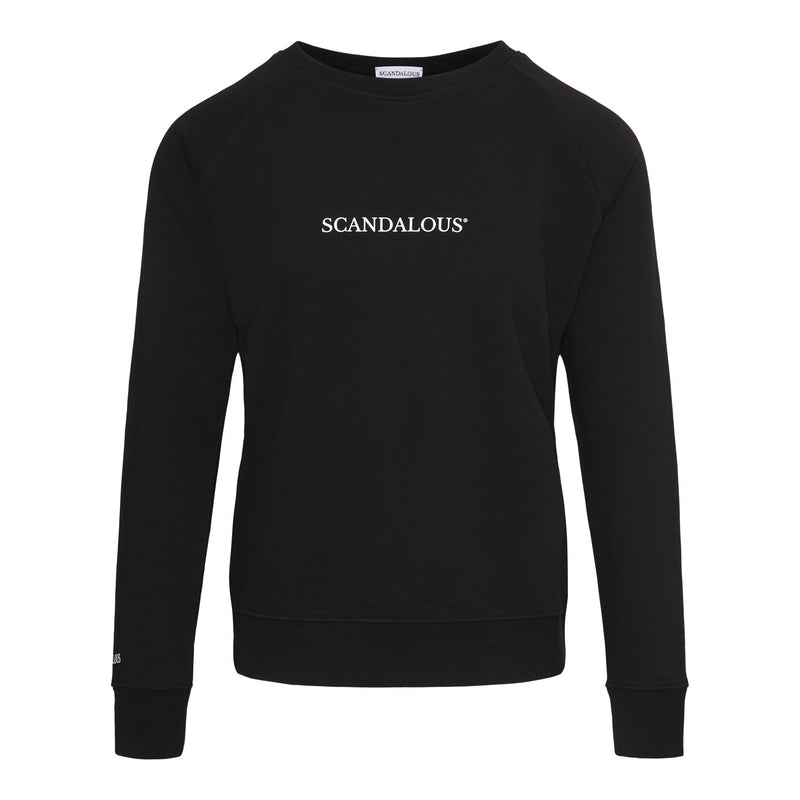 Scandalous Black 'Genesis' Sweatshirt Women
