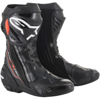 Alpinestars Supertech R Boots - Black/Gray/Red