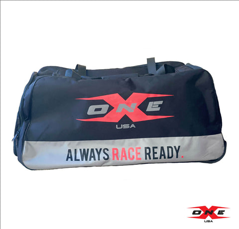 OneX USA Rolling  Gear Bag - Always Race Ready.