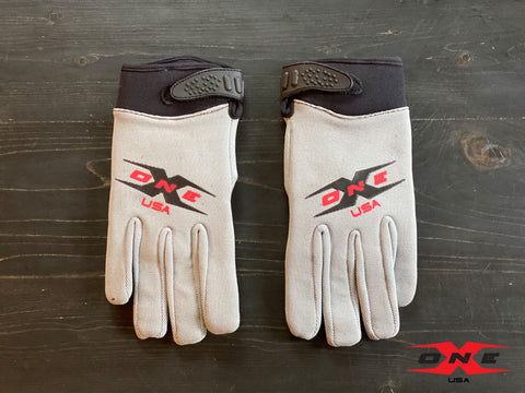 OneX USA Mechanic Paddock Gloves - Gray