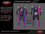 OneX USA Pro Race Custom Leather Suit & Custom Gloves