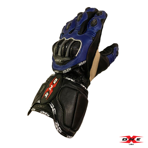 OneX USA Pro Race Gloves - Blue