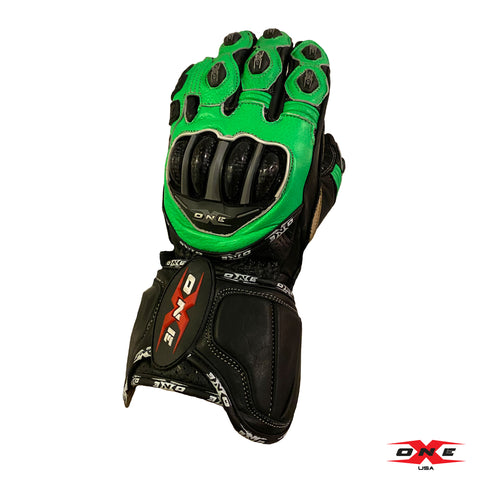OneX USA Pro Race Gloves - Fluor Green