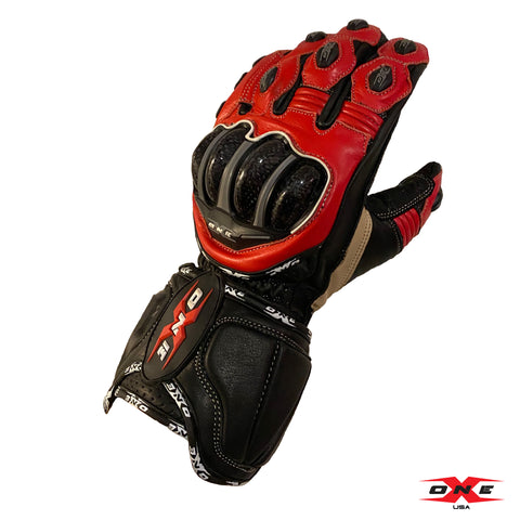 OneX USA Pro Race Gloves - Red