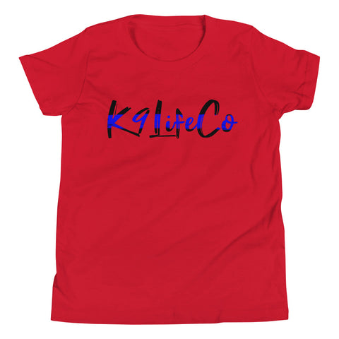 Thin Blue Line - K9LifeCo - Youth Short Sleeve T-Shirt