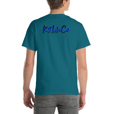 K9LifeCo - Thin Blue Line Logo - Short Sleeve T-Shirt