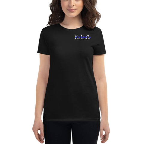 "K9LifeCo - ""I Back The K9 - TBL"" Women's short sleeve Fit t-shirt"