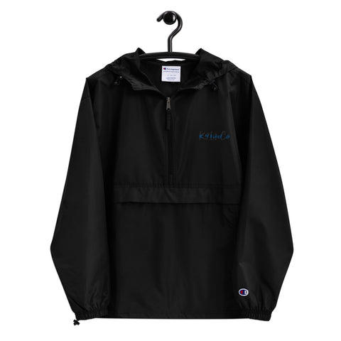 K9LifeCo - Embroidered Champion Packable Rain Jacket