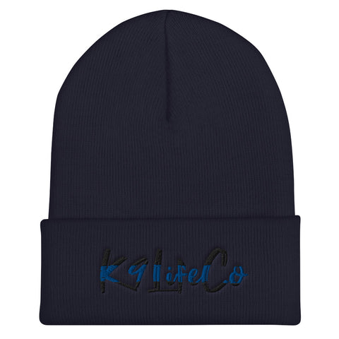 Thin Blue Line K9LifeCo - Cuffed Beanie