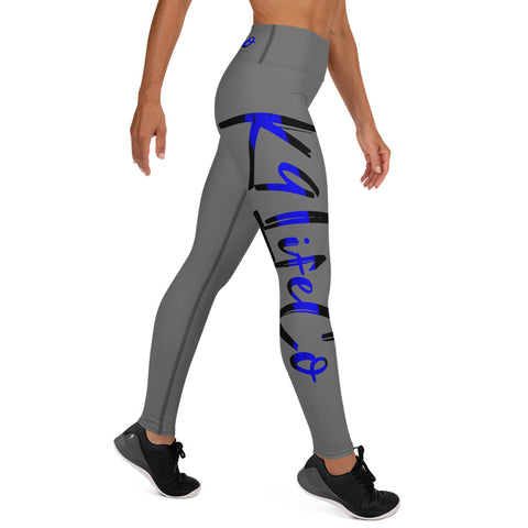 Thin Blue Line - K9LifeCo - High Waisted Yoga Leggings