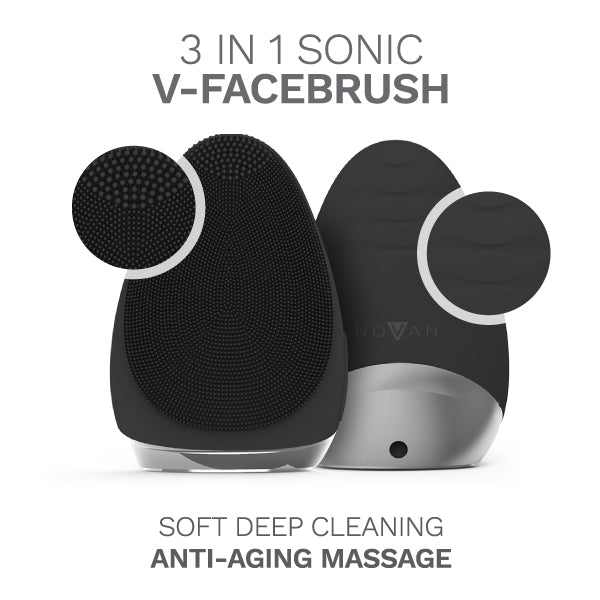 Front and Back view of V-Facebrush