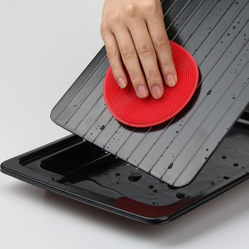 Fast Quick Rapid Meat Defrosting Tray