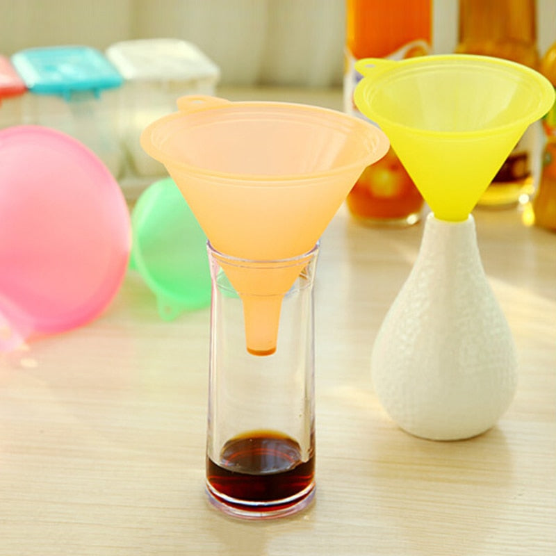 Food Grade Plastic  Oil Funnel Kitchen