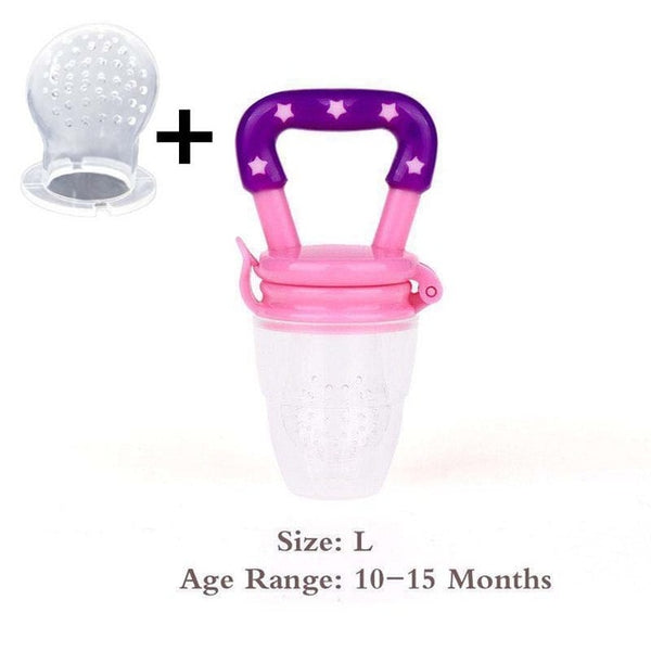 Pacifiers Feeder Kids Fruit feeding nipple