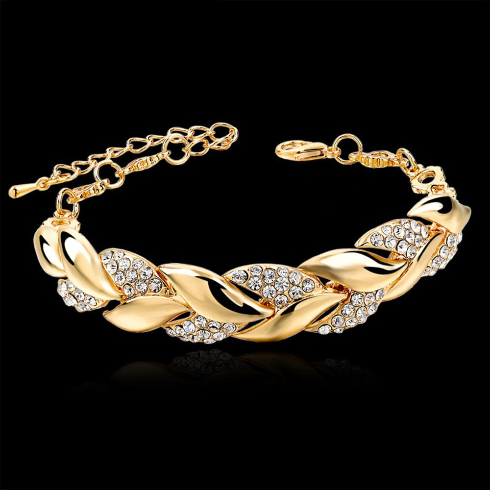 Chain Bangle Luxury Wedding Jewelry
