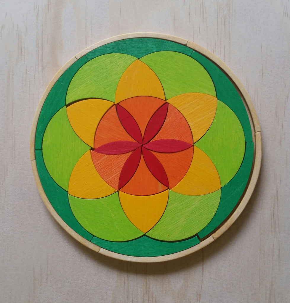 Grimm's Colours of Spring - Mini Circle Puzzle