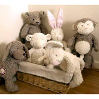 Charlie Bears Organic Cotton Collection are toys just to be loved!