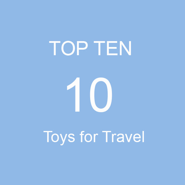Top 10 Toys & Games for Travel