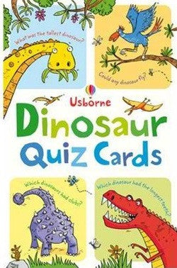 Dinosaur Quiz Card - Earth Toys