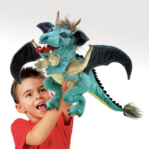 Sky Dragon Folkmanis Hand Puppet