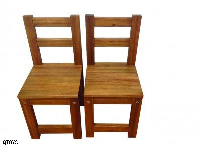 Extra Wooden Acacia Standard Chair - Earth Toys - 2