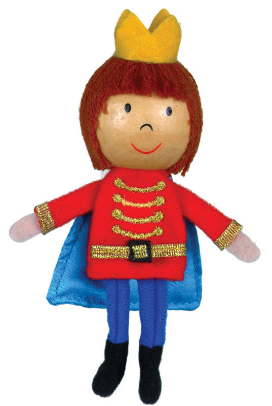 Fiesta Crafts - Prince Finger Puppet - Earth Toys