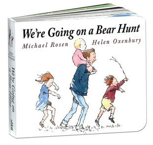 We're Going On a Bear Hunt - Board Book - Earth Toys