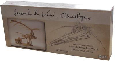 Da Vinci Ornithopter Wooden Kit - Earth Toys - 4