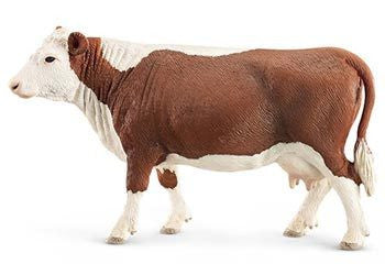 Schleich - Hereford Cow - Earth Toys