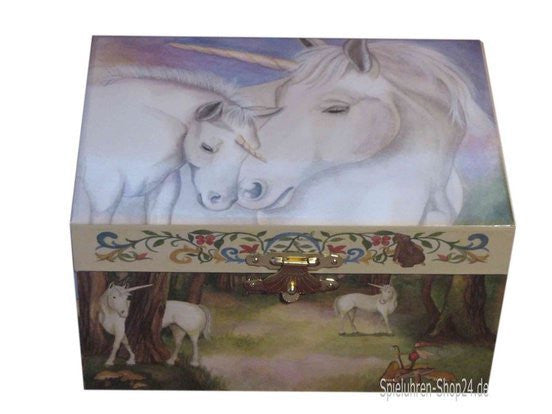 Enchantmints Gentle Unicorn Music Box - Earth Toys