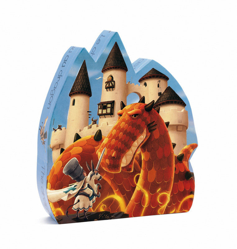 Dragons Castle 54 pc Puzzle - Earth Toys - 1